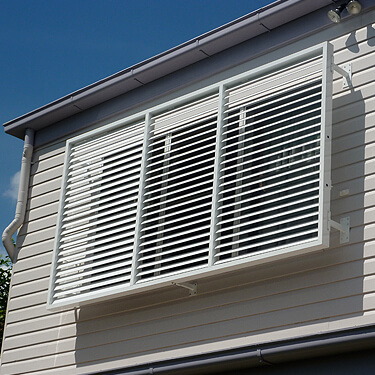 awnings external privacy screens louvres